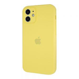 Защитный чехол Silicone Cover 360 Square Full для Iphone 11 – Yellow