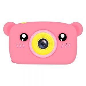 Детский фотоаппарат Baby Photo Camera Bear – Pink