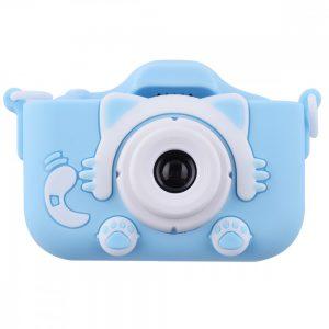 Детский фотоаппарат Baby Photo Camera Cartoon Cat – Blue