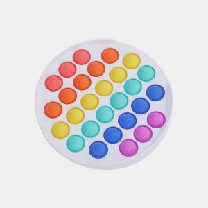 Антистресс игрушка Simple Dimple (Симпл-димпл) – Белый круг