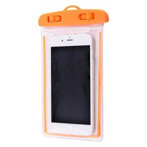 Водонепроницаемый универсальный чехол 5.5-6.5 (neon) – Orange
