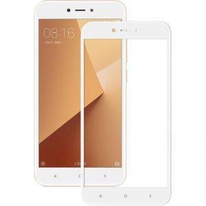 Защитное стекло 3D (5D) Full Glue Armor Glass на весь экран для Xiaomi Redmi Note 5A – White