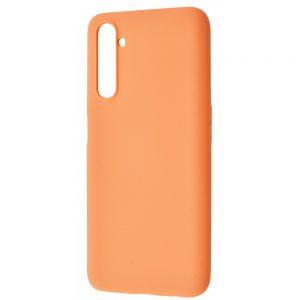 Чехол WAVE Colorful Case с микрофиброй для Realme 6 Pro – Peach
