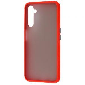 Чехол TPU Matte Color Case для Realme 6 Pro – Red
