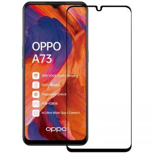 Защитное стекло Goldish Full 9H для Oppo A73 – Black