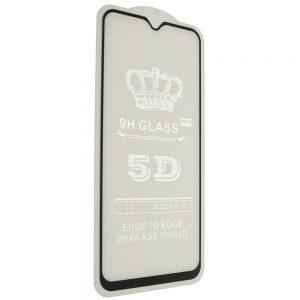 Защитное стекло 5D Full Glue Cover Glass на весь экран для Xiaomi Redmi Note 8 – Black