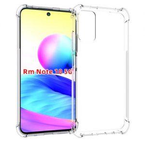 Прозрачный силиконовый TPU чехол с усиленными углами для Xiaomi Redmi Note 10 5G / Poco M3 Pro  – Clear