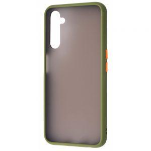Чехол TPU Matte Color Case для Realme 6 Pro – Mint gum