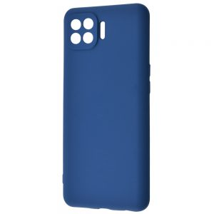 Чехол WAVE Colorful Case с микрофиброй для Oppo Reno 4 Lite – Blue