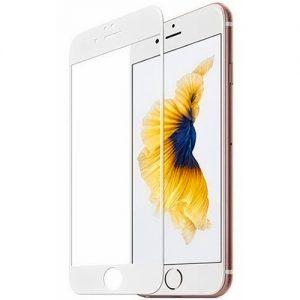 Защитное стекло Goldish Full 9H для Iphone 7 / 8 / SE (2020) – White
