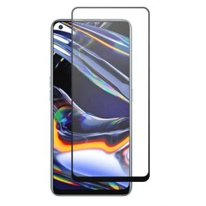 Защитное стекло Goldish Full 9H для Realme 7 – Black