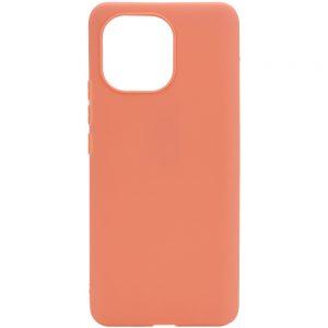 Матовый силиконовый TPU чехол для Xiaomi Mi 11 Lite – Rose Gold