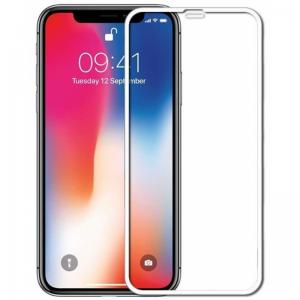 Защитное стекло 3D (5D) Full Glue Armor Glass на весь экран для Iphone XS Max / 11 Pro Max – White