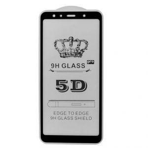 Защитное стекло 5D Full Glue Cover Glass на весь экран для Samsung Galaxy A7 2018 A750 – Black