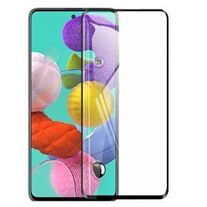 Гибкое защитное стекло Nano для Glass для Samsung Galaxy A51 / M31s – Black