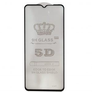 Защитное стекло 5D Full Glue Cover Glass на весь экран для Xiaomi Redmi Note 8 Pro – Black