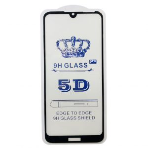 Защитное стекло 5D Full Glue Cover Glass на весь экран для Huawei Y6 2019 / Honor 8A – Black