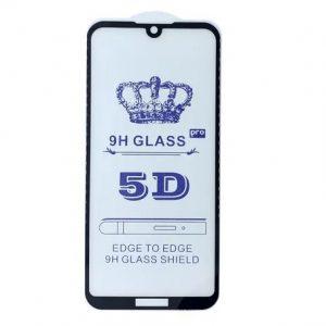 Защитное стекло 5D Full Glue Cover Glass на весь экран для Huawei Y5 2019 / Honor 8s  — Black