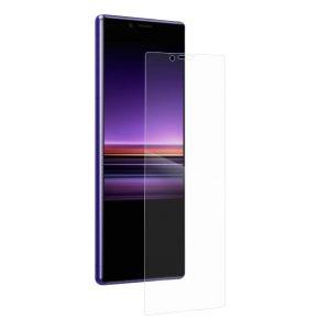 Защитное стекло 3D Full Cover для Sony Xperia 1 на весь экран – Clear