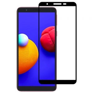 Защитное стекло Goldish Full 9H для Samsung Galaxy A01 Core – Black