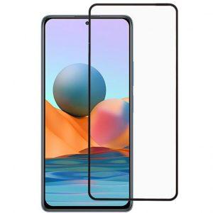 Защитное стекло 3D / 5D Premium 9H Full Glue на весь экран для Xiaomi Redmi Note 10 5G / Poco M3 Pro – Black