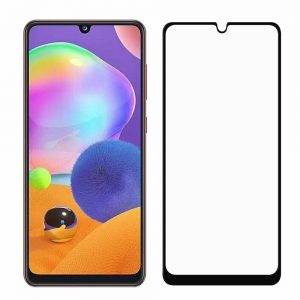 Защитное стекло Goldish Full 9H для Samsung Galaxy A31 – Black