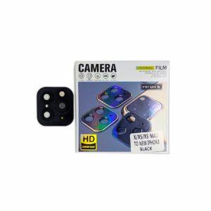 Защитное стекло на камеру с имитацией Iphone 11 Pro для Iphone X / XS / XS Max – Black