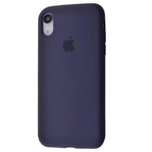 Оригинальный чехол Silicone Case 360 с микрофиброй для Iphone XR – Midnight blue