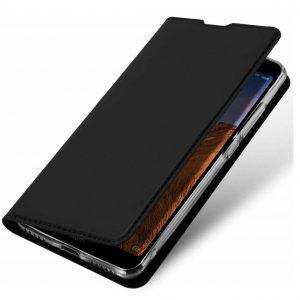 Чехол-книжка Dux Ducis с карманом для Xiaomi Redmi K30 / Poco X2 — Черный