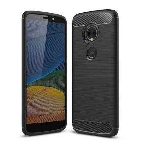 Cиликоновый TPU чехол Slim Series для Motorola Moto E5 Plus – Черный