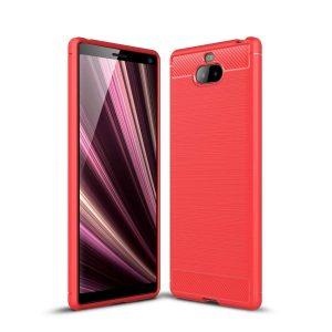 Cиликоновый TPU чехол Slim Series для Sony Xperia XA3 – Красный