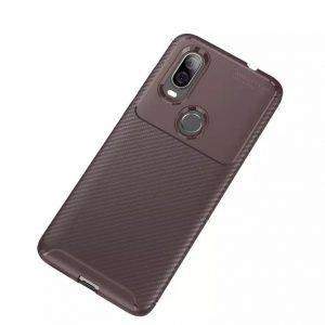 Силиконовый чехол Kaisy Series для Motorola P40 – Brown