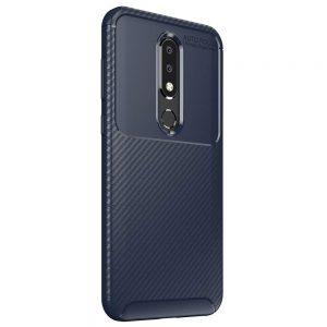 Силиконовый чехол Kaisy Series для Nokia 6.1 Plus / Nokia X6 – Blue