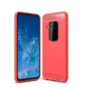 Cиликоновый TPU чехол Slim Series для Motorola P40 Note / One Zoom – Красный