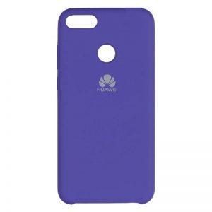 Оригинальный чехол Silicone Case с микрофиброй для Huawei Nova Lite 2017 – Фиолетовый