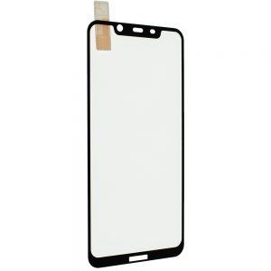 Защитное стекло 3D / 5D Premium 9H Full Glue на весь экран для Nokia 8.1 / 7.1 Plus / X7 – Black