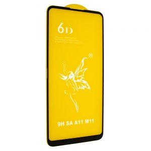 Защитное стекло 6D Premium для Samsung Galaxy A11 / M11 – Black