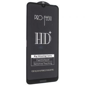 Защитное стекло 3D (5D) PRO-FLEXI HD+ для Huawei Y6 2019 / Y6s / Honor 8A — Black