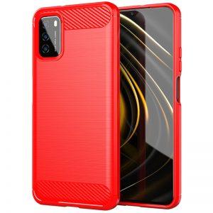 Cиликоновый TPU чехол Slim Series для Xiaomi Redmi Note 10 5G / Poco M3 Pro – Красный