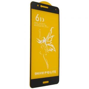 Защитное стекло 6D Premium для Huawei P10 Lite – Black