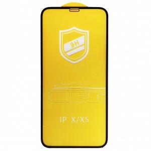 Защитное стекло 9H Full Glue на весь экран для Iphone XS Max / 11 Pro Max – Black