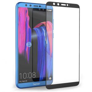 Защитное стекло 6D Full Glue Cover Glass на весь экран для Huawei Honor 9 Lite – Black