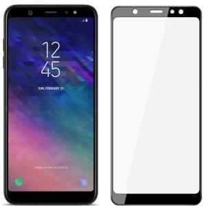 Защитное стекло 11D 9H i-flexi Full Glue для Samsung Galaxy A6 Plus 2018 (A605) – Black