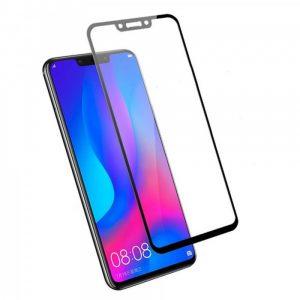 Защитное стекло 3D (5D) Perfect Glass Full Glue Lion на весь экран для Huawei P Smart Plus / Nova 3i – Black