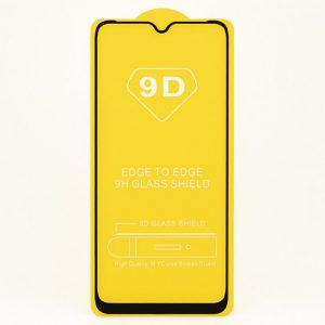 Защитное стекло 9D Full Glue Cover Glass на весь экран для Nokia 5.3 – Black
