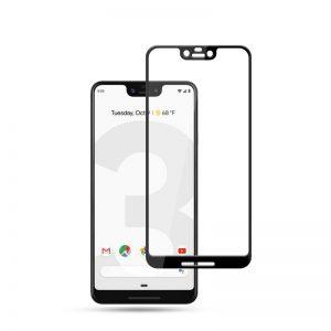 Защитное стекло 2.5D (3D) Full Cover на весь экран для Google Pixel 3 XL – Black