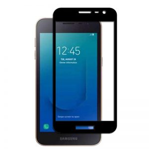 Защитное стекло 3D (5D) Full Glue Armor Glass на весь экран для Samsung Galaxy J2 Core 2018 ( J260) – Black