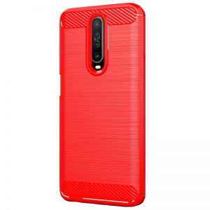 Cиликоновый TPU чехол Slim Series для Xiaomi Redmi K30 / Poco X2 – Красный