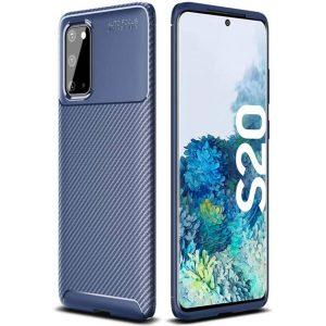 Силиконовый чехол Kaisy Series для Samsung Galaxy S20 – Blue