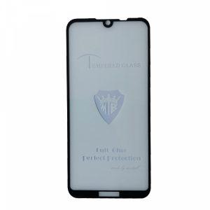 Защитное стекло 3D (5D) Tempered Glass Full Glue Cover на весь экран для Huawei Y5 2019 / Honor 8s – Black